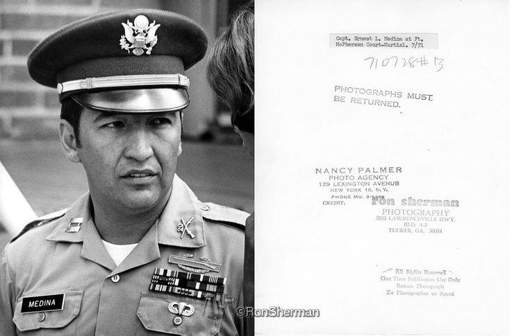 Ernest Medina Captain Ernest Medina US Army Court Marshall Ft McPearson