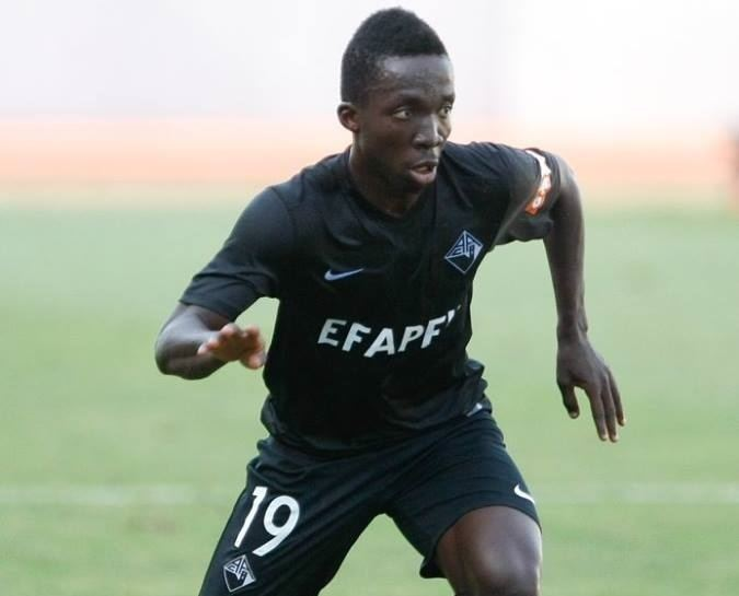 Ernest Ohemeng Ernest Ohemeng Ghanaian youth winger joins Academica on loan from