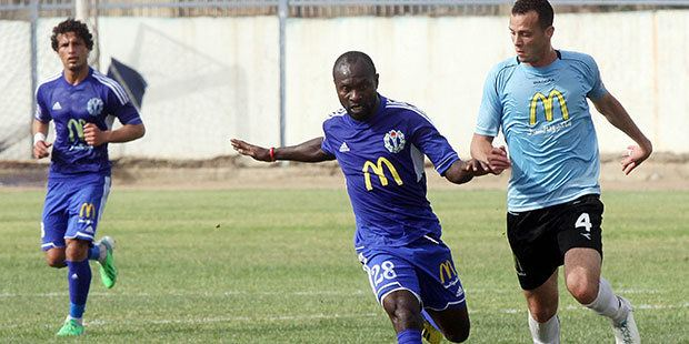 Ernest Papa Arko Ernest Papa Arko Experienced Ghanaian attacker scores equaliser for