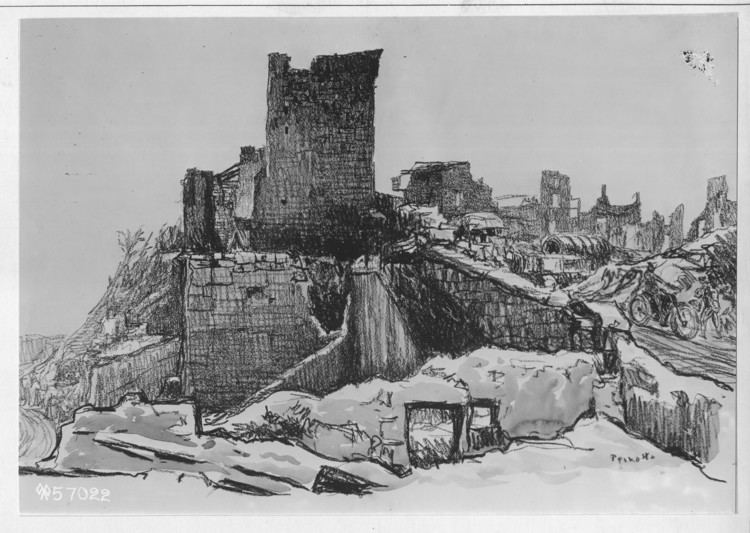 Ernest Peixotto World War I Combat Artists Ernest Peixotto The Unwritten Record