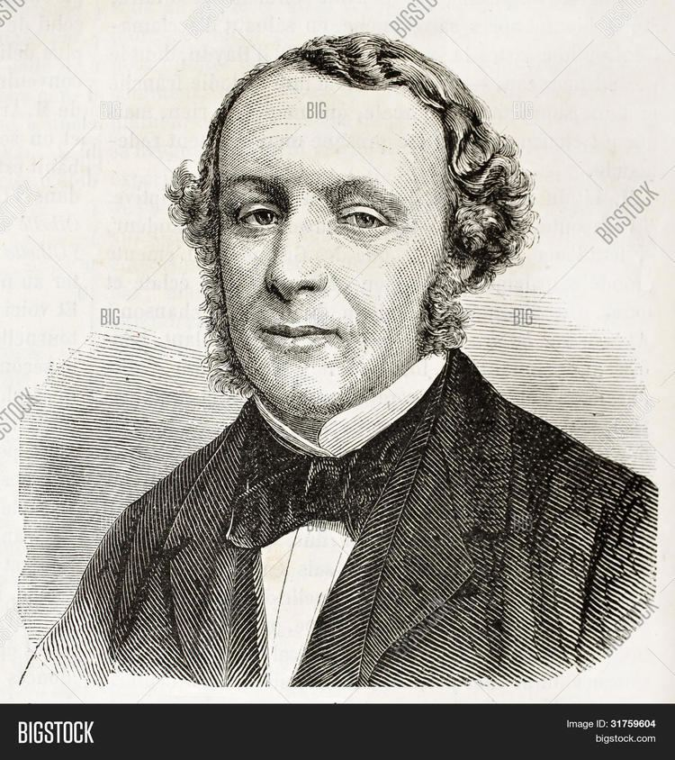 Ernest Picard Ernest Picard old engraved portrait French politician Created by