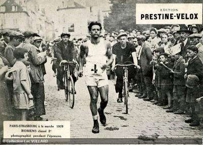 Ernest Romens FileLe marcheur ERNEST ROMENS en 1929jpg Wikimedia Commons