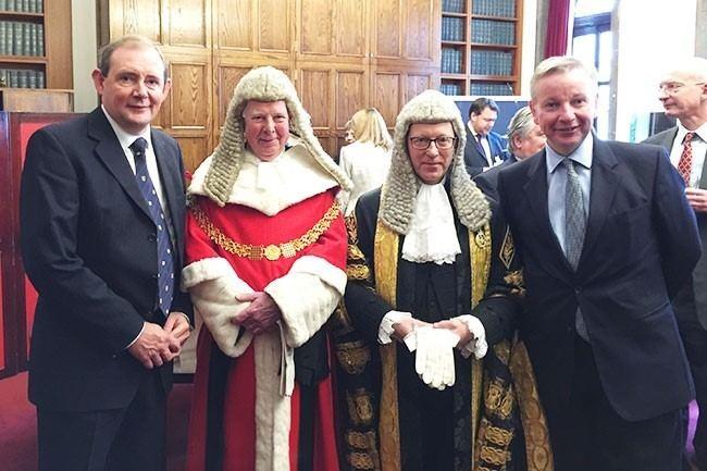 Ernest Ryder University Chancellor installed as Senior President of Tribunals