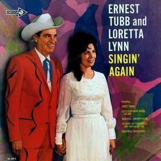 Ernest Tubb & Loretta Lynn Singin' Again httpsuploadwikimediaorgwikipediaen779Lor