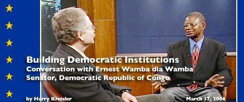 Ernest Wamba dia Wamba Conversation with Ernest Wamba dia Wamba cover page