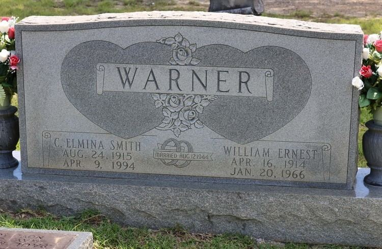 Ernest Warner William Ernest Warner Sr 1914 1966 Find A Grave Memorial