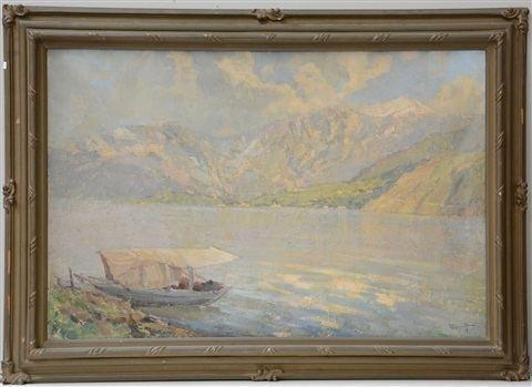 Ernesto Rigamonti Scorcio di lago by Ernesto Rigamonti on artnet