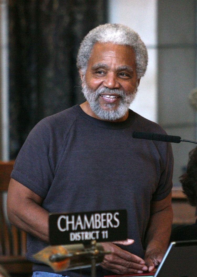 Ernie Chambers SenChamberssmilingjpg