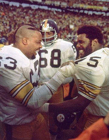Ernie Holmes Recounting the bond among Joe Greene and his Steel Curtain brothers