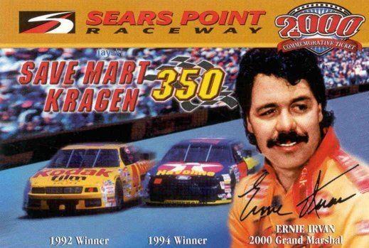 Ernie Irvan Jayski39s NASCAR Silly Season Site Ernie Irvan Tribute