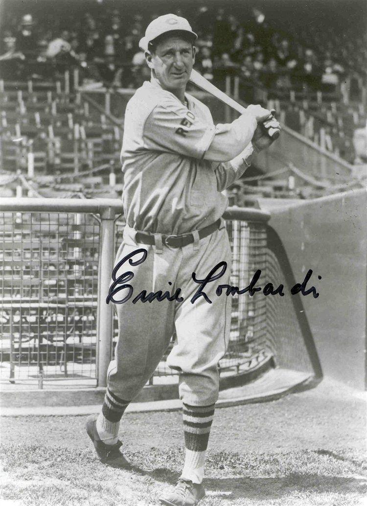 Ernie Lombardi PSA AutographFacts Ernie Lombardi