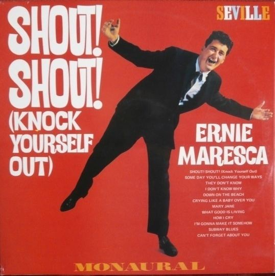 Ernie Maresca Ernie Maresca Do Wop Teen Idol and Songwriter Passes On