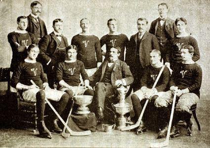 Ernie McLea Third String Goalie 1897 Montreal Victorias Ernie McLea Jersey