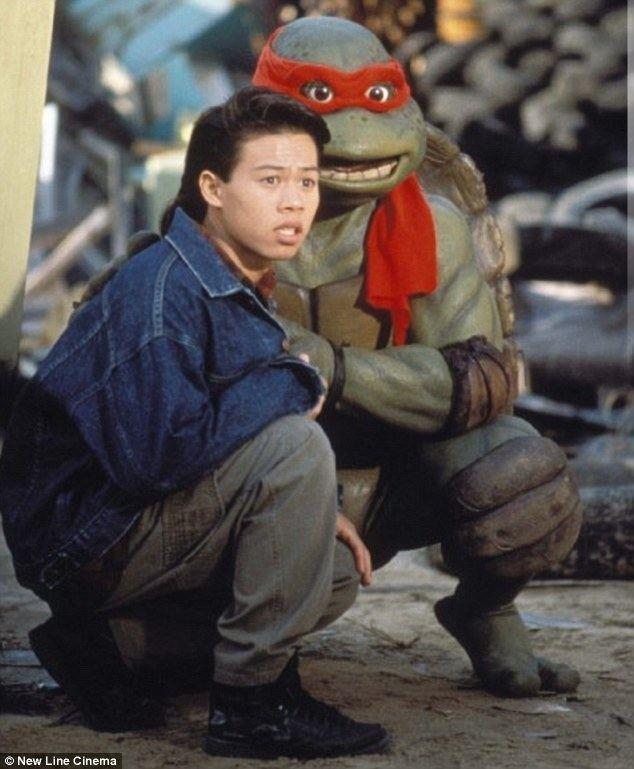 Ernie Reyes Jr. Teenage Mutant Ninja Turtles star Ernie Reyes Jr is 39fighting for