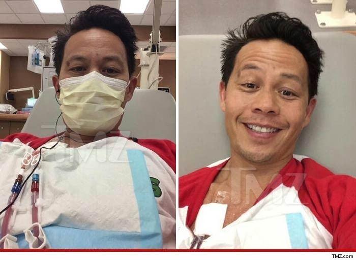 Ernie Reyes Jr. Ernie Reyes Jr 39Ninja Turtles39 Star Hospitalized My Kidneys