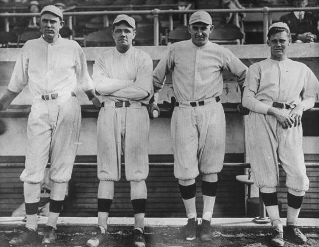Ernie Shore Ernie Shore once threw a quasiperfect game after Babe