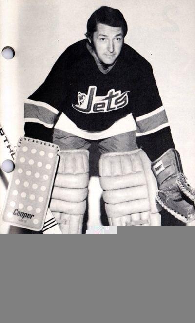 Ernie Wakely Winnipeg Jets goaltending history Ernie Wakely