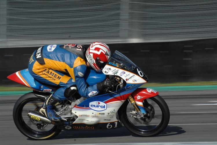 Ernst Dubbink Ernst Dubbink Nederlands kampioen moto3 2014 Eurol BV