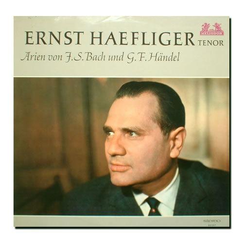 Ernst Haefliger Ernst Haefliger Tenor Short Biography