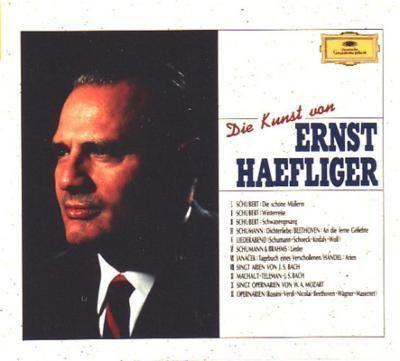 Ernst Haefliger Die Kunst Von Ernst Haefliger ltike HMV POCG941323