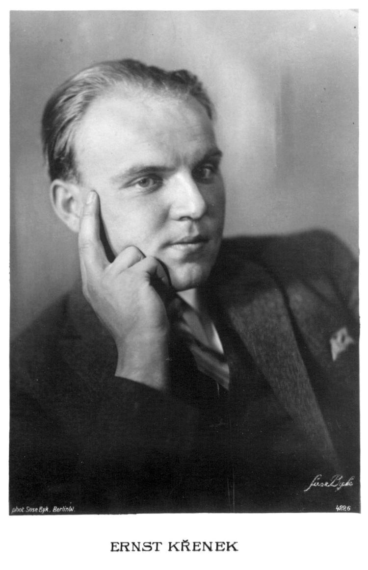Ernst Krenek ALMA Fotoarchiv