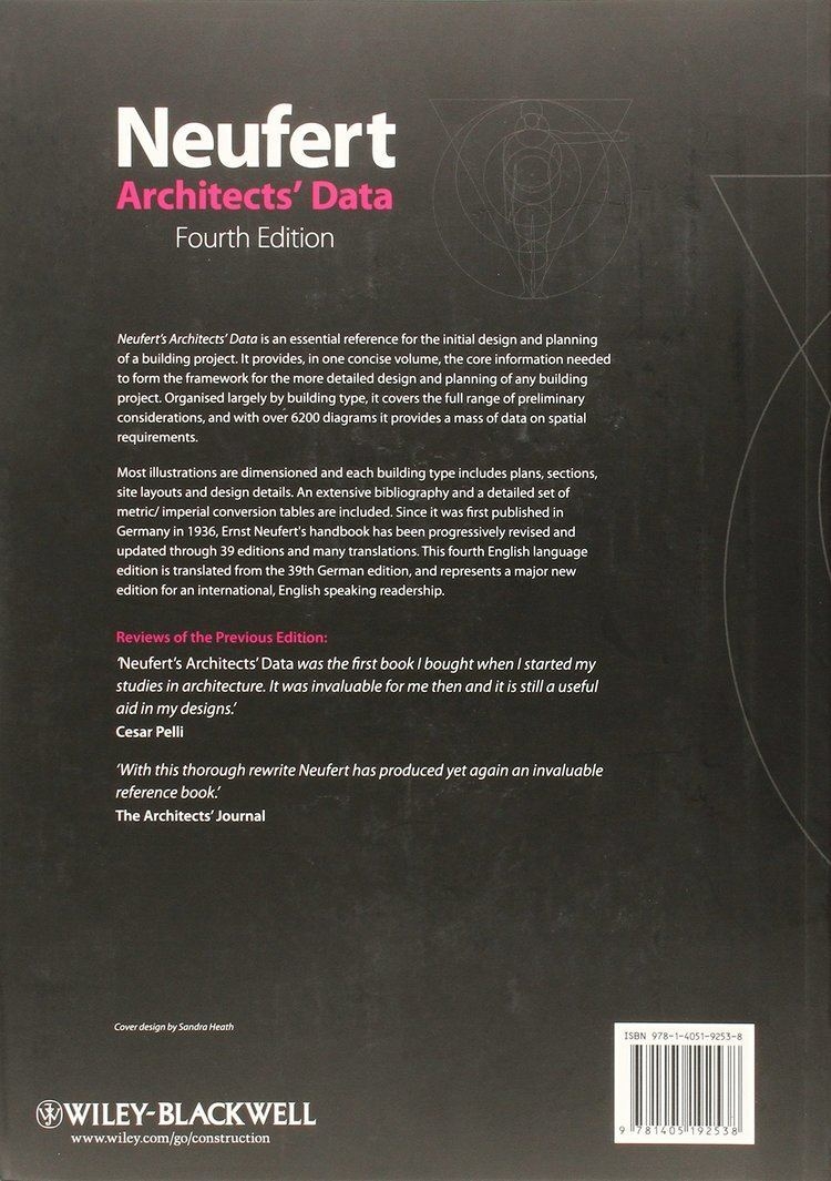 Ernst Neufert Buy Architects Data Book Online at Low Prices in India Architects