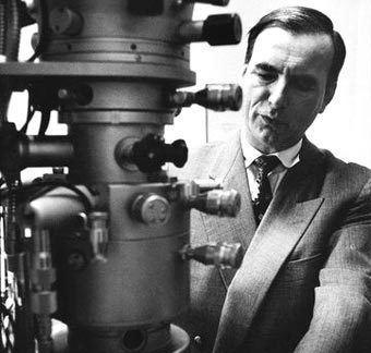Ernst Ruska Ernst Ruska The electron microscope