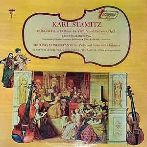 Ernst Wallfisch Karl Stamitz Ernst Wallfisch Wrttemberg Chamber Orchestra