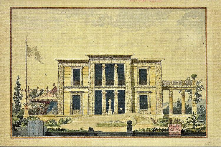 Ernst Ziller Athens Egyptian Revival Ernst Ziller Architect Kifissia