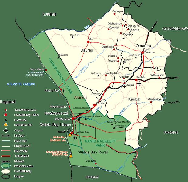 Erongo Region Erongo Region
