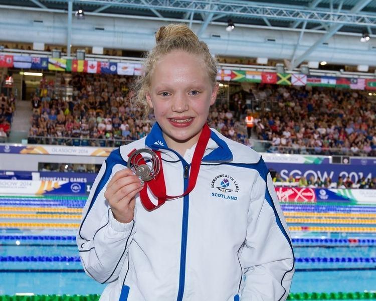 Erraid Davies A mother39s pride Joyce Davies on daughter Erraid39s medal