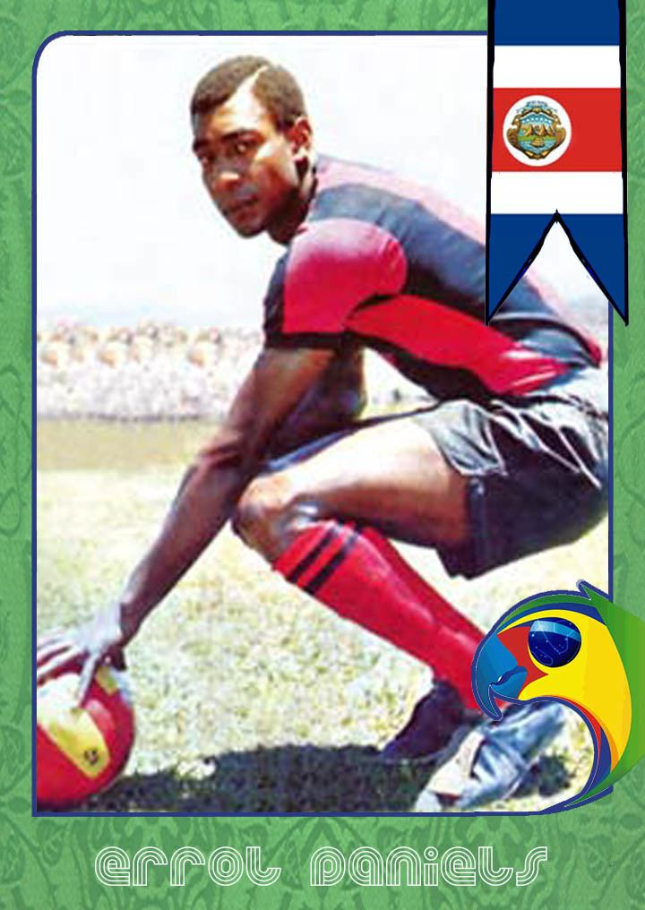 Errol Daniels World Cup Legends Costa Rica and Errol Daniels Back
