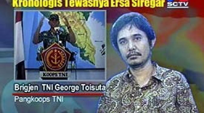 Ersa Siregar Pangkoops Ersa Tewas dalam Kontak Senjata News Liputan6com