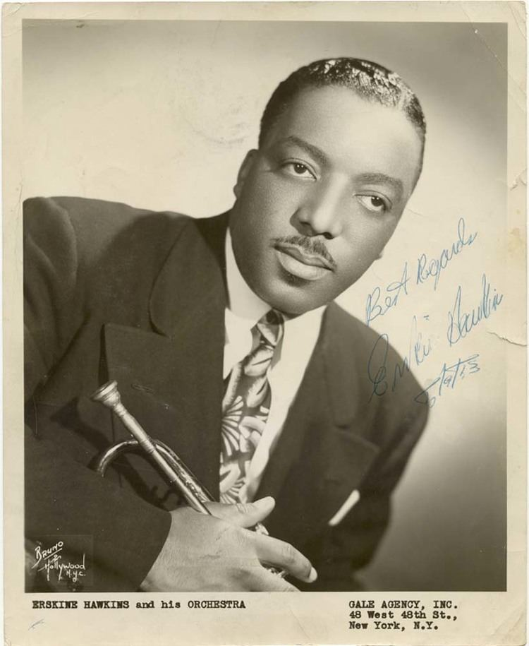 Erskine Hawkins no 14 Rhythm is Our Business from