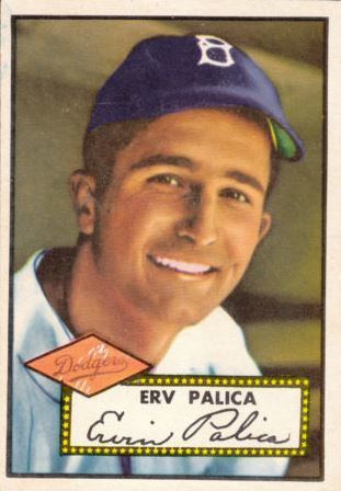 Erv Palica Erv Palica Baseball Statistics 19471956