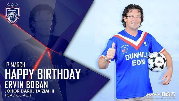 Ervin Boban HAPPY BIRTHDAY ERVIN BOBAN Official website of Johor Darul Tazim