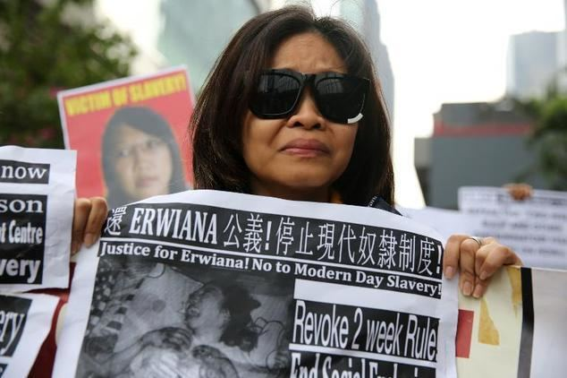 Erwiana Sulistyaningsih Former maid tells Hong Kong court of 39torture39 by employer Daily