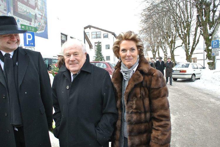 Erwin Conradi ExManager Metro Erwin Conradi und Sabine Meister Abendzeitung