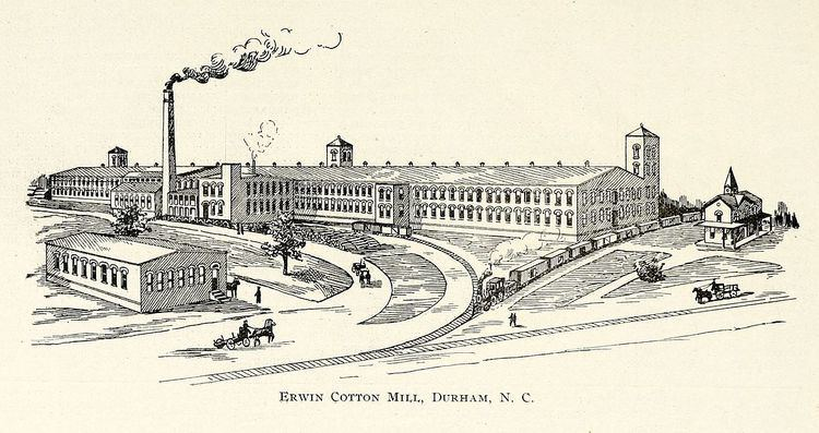 Erwin Cotton Mills Company Mill No. 1 Headquarters Building