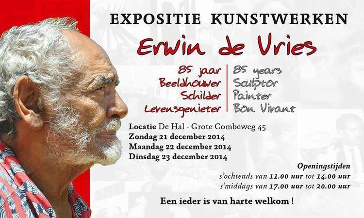 Erwin de Vries Solo exhibition Erwin de Vries 85 jaar Beeldhouwer Schilder