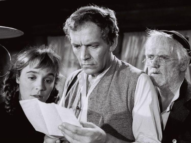 Erwin Kohlund Erwin Kohlund in Franz Schnyders Ueli der Pchter 1955 Cinema