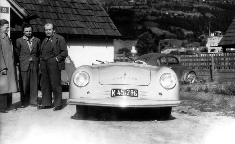 Erwin Komenda Porsche Denies Accusations of Having Stolen its DNA from Legendary
