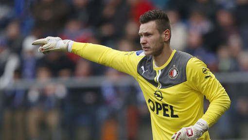Erwin Mulder Erwin Mulder voelt zich niet bedreigd bij Feyenoord ADnl