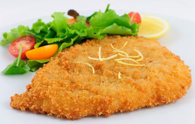 Escalope Luxury Breaded Chicken Escalope and Mini Chicken Escalope Imagefarm