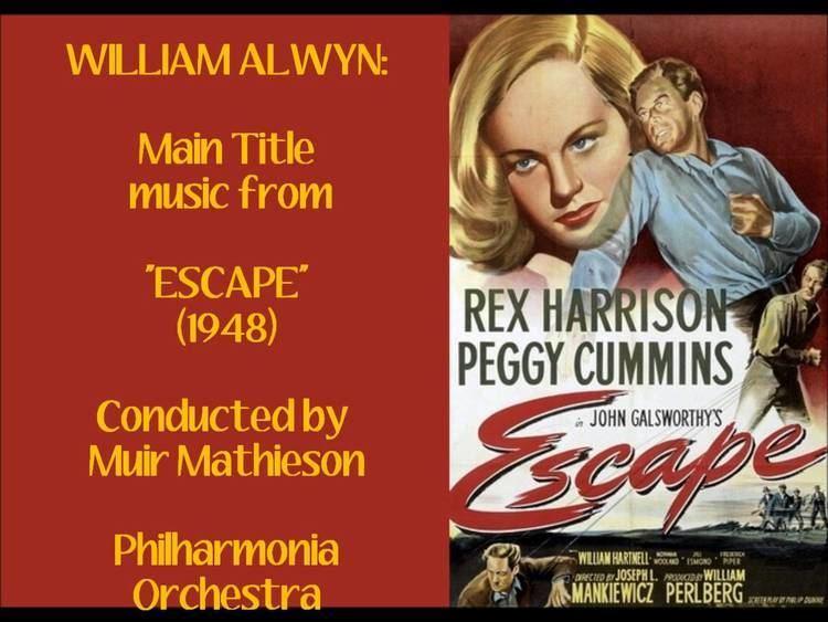 Escape (1948 film) William Alwyn Main Title music from Escape 1948 YouTube