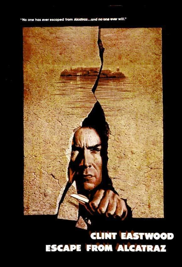 Escape from Alcatraz (film) Escape From Alcatraz film review Reflecting Through Echoes