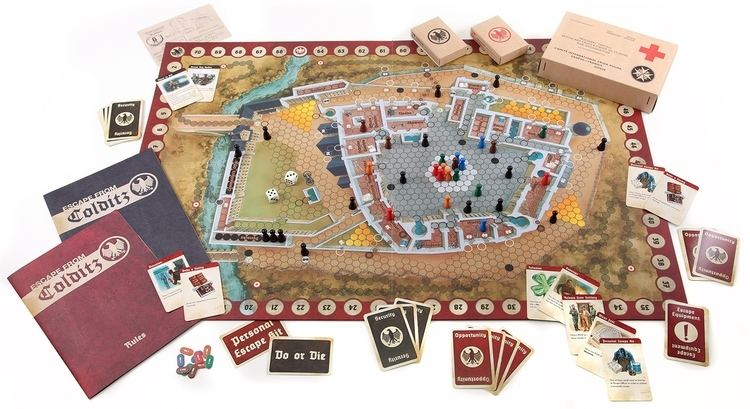 Escape from Colditz Escape From Colditz Board Game Review The New Edition The Board