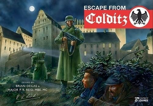 Escape from Colditz Escape from Colditz Board Game BoardGameGeek