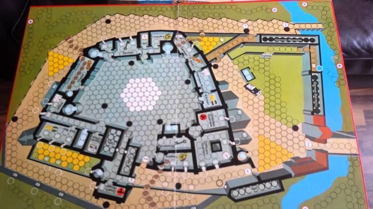 Escape from Colditz Escape From Colditz Board Game YouTube