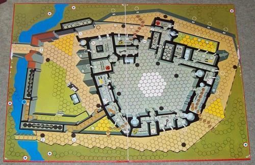 Escape from Colditz Review of rules components and gameplay with pics and rules QampA